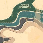 矢量复古抽象条纹背景 — 图库矢量图片