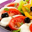 Stock Photo: Caprese salad