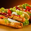 Stock Photo: Hot dog