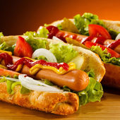 Hot dog — Foto de Stock