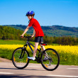 Boy biking — Stock Photo #23609717