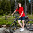 Girl biking — Stock Photo #23611045