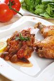 Grilled chicken drumsticks — Stock Photo