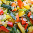 Delicious vegetable salad — ストック写真