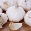 Garlic  closeup — Stock Photo