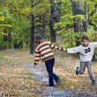 kids playing — Stock Photo