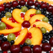 Fruity pie — Stock Photo