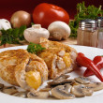 Stuffed fried chicken fillets — Stock Photo #32750461