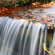 Water flow in autumn scenery — Stock Photo #32750947