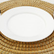 empty plate&quot — Stock Photo #32765969