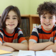Children doing homework — Stock Photo