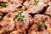Fresh raw meat ready to grill — Stock Photo