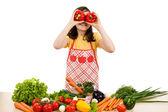 Healthy eating — Stock Photo