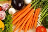 Healthy fresh vegetables — Stock Photo