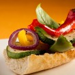 Vegetarisandwich — Stock Photo #32873445