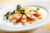 Grilled turkey fillet — Stock Photo