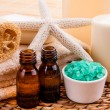 Stock Photo: Body care products