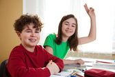čas strávený ve škole — Stock fotografie
