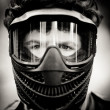 paintball speler — Stockfoto
