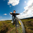 Boy biking — Stock Photo #33150645