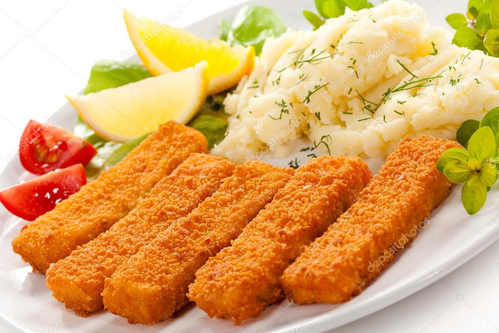 fischstäbchen kartoffelpüree
