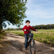 Boy biking — Stock Photo #33167857