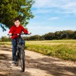 Boy biking — Stock Photo #33167915