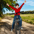 Boy biking — Stock Photo #33167939
