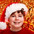 Boy as Santa Claus — Stock Photo #33193487