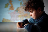 Boy learning — Stock Photo