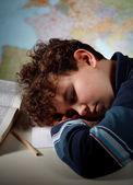 過労の学生 — ストック写真