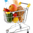 Shopping trolley full of goods — Stock Photo #33277583