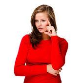 Atraktivní žena — Stock fotografie