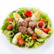 Tuna and vegetable salad — Stock Photo #33457639