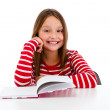Stock Photo: Girl learning