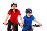 велосипедисты — Стоковое фото