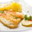 Fish dish — Stock Photo #33498205
