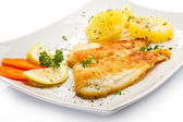Fish dish — Stock Photo