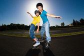 Active young people — Zdjęcie stockowe
