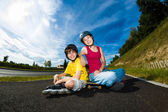 Active young people — Foto de Stock