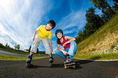 Active young people — Stockfoto