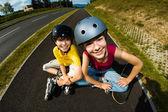 Aktive junge Menschen — Stockfoto