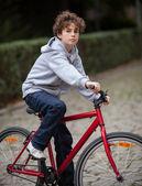 Urban biking — Stock Photo
