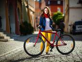 городской велосипед — Стоковое фото