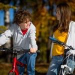 ciclismo urbano — Foto de Stock   #33604083