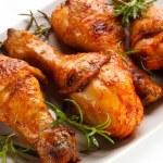 Grilled chicken drumsticks — Stock Photo #33637739