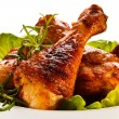 Roasted chicken drumsticks — Stock Photo #33638455