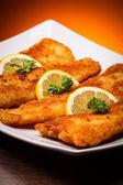 Prato de peixe — Fotografia Stock