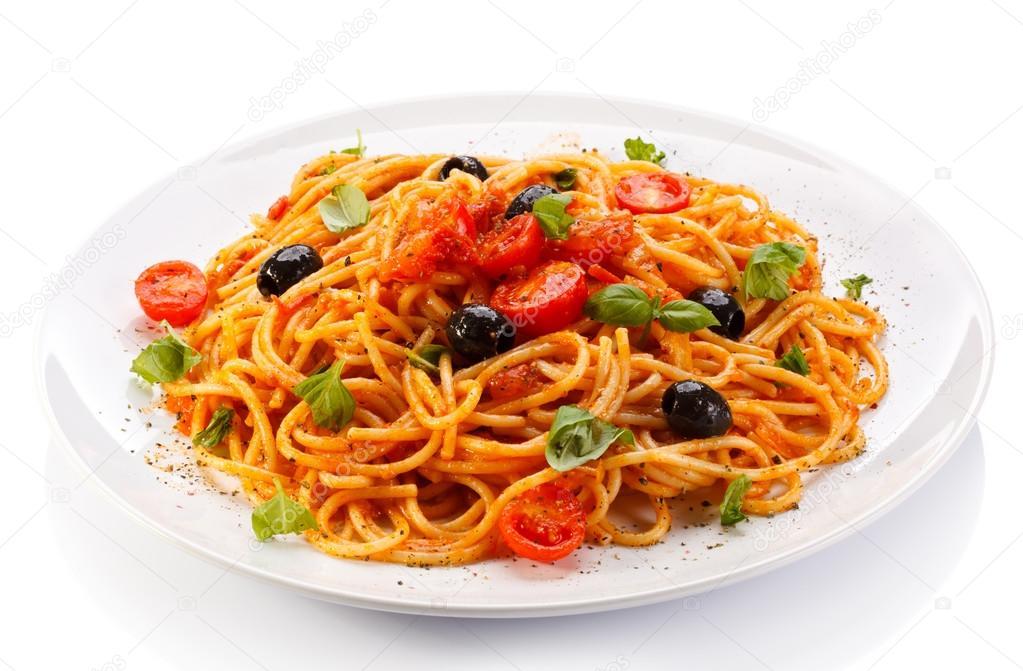 спагетти с овощами и мясом интернете часто можно
