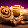 Sweet cinnamon rolls — Stock Photo